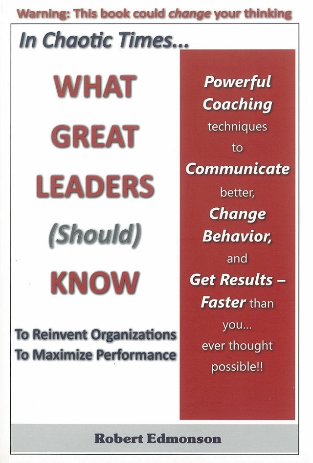 What Great Leaders (Should) Know