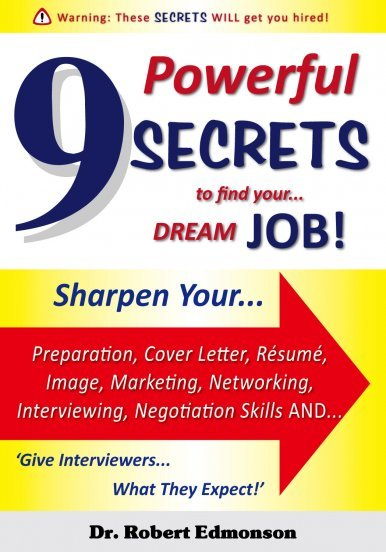 《9 Powerful SECRETS to find your… DREAM JOB!》